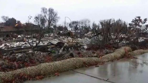 Storm Triggers Flood Concerns in North Bay Burn Areas
