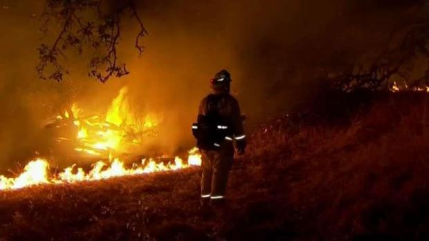 [BAY] Study to Detail Health Impact of Tubbs Fire on Firefighters
