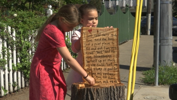 [BAY] Meet the Oakland Family Who Made 'The Giving Tree' Stump