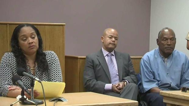 [NATL-LA] Supporters Surround OJ Simpson During Parole Hearing