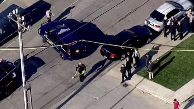[BAY ML 11A REDELL] Suspect at Large After Officer-Involved Shooting in Hayward: Sheriff's Office