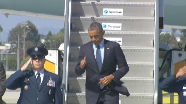 [BAY] President Obama Visiting San Francisco for DNC Fundraisers