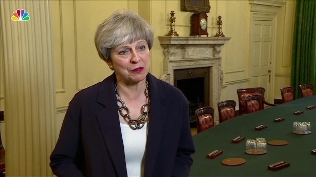 [NATL]Theresa May Puts Together New Cabinet, Prepares for 'Brexit'