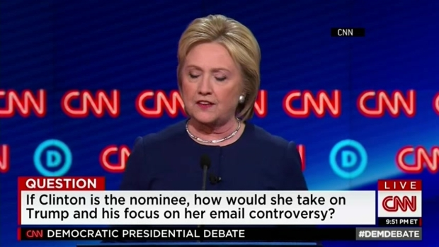 [NATL] Clinton, Sanders Asked How to Take On Trump