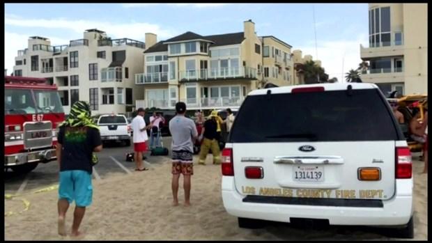 [LA] Listen: 911 Call After Venice Beach Lightning Strike