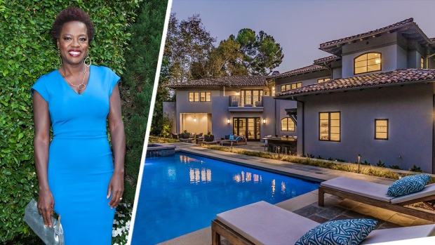[NATL-LA] Viola Davis Snags Glamorous $5.7M Toluca Lake Home