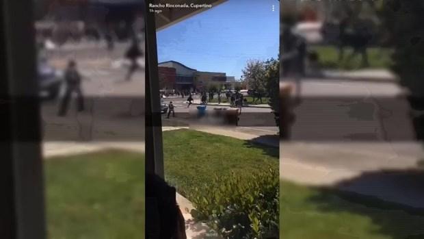 """Threatening Robo Call' Prompts Emergency Evacuation at Cupertino High School"