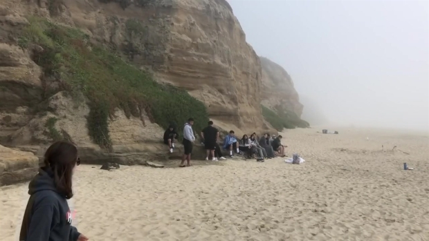 RAW: Rescue Crews Search Half Moon Bay Waters For Missing Teen