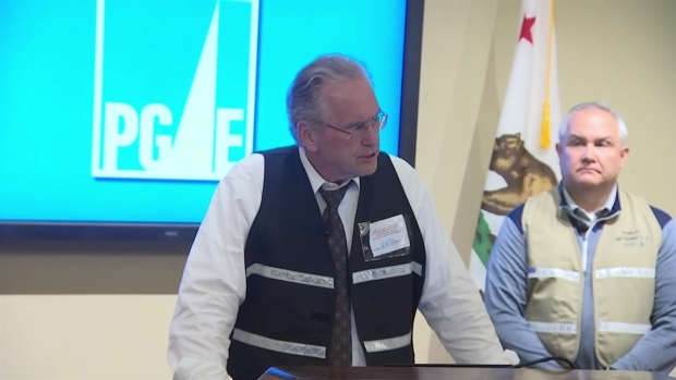RAW: PG&E CEO Discusses Proactive Power Outages