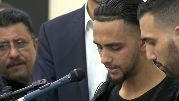 [BAY] Dad at Center of Muslim Ban Fight Speaks at Son's Funeral