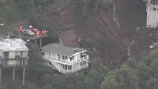 Video Shows House That Slid Down Sausalito Hill After Mudslide