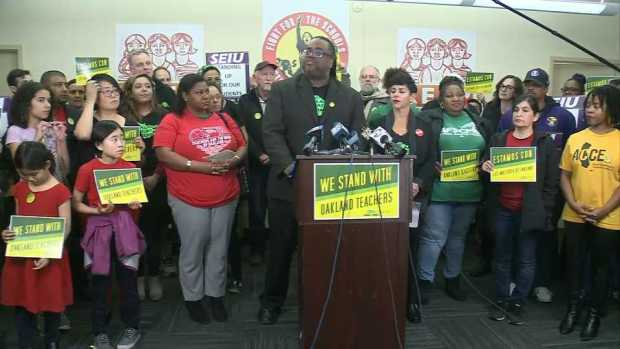 [BAY] Nearly 3,000 Teachers Will Strike Thursday