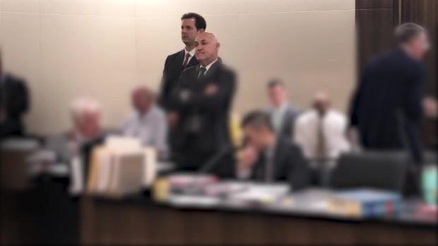 San Joaquin Sheriff's Deputy in Court