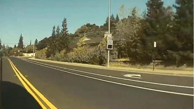 [BAY] RAW: Tesla Records Hit-and-Run in Los Gatos