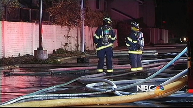 [BAY] Multiple Fires, Including 5-Alarm Warehouse Blaze, Keep San Jose Firefighters Busy