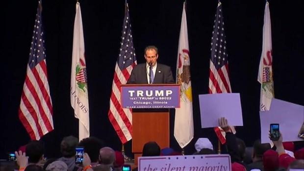 Trump Postpones Chicago Rally for Safety Concerns