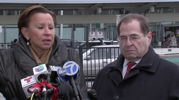 [NATL-NY] 'We Cannot go Back to Those Dark Days': Nydia Velazquez Condemns Refugees' Detainment