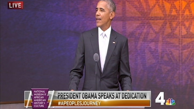 [NATL-DC] President Barack Obama During Dedication of National Museum of African American History