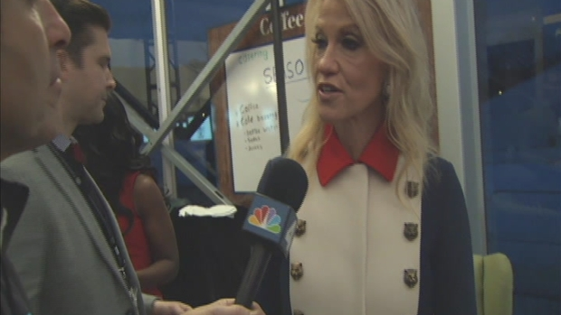 Conway Dons 'Trump Revolutionary Wear' on Inauguration Day