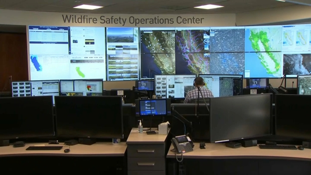 [BAY] PG&E Makes Upgrades to Wildfire Safety Operations Center