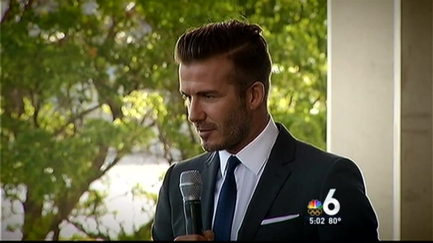 [MI] David Beckham Bringing Major League Soccer Franchise to Miami