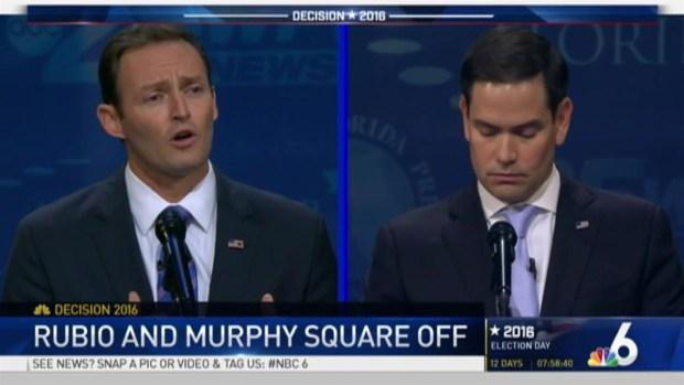 Rubio, Murphy Hit Hard in Senate Debate