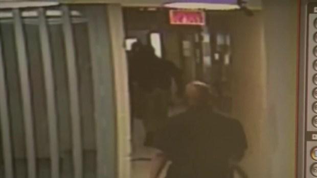 Raw Video: Waller Co. Jail Surveillance Video