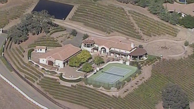 Aerial Photos of Excessive Water Users' Homes