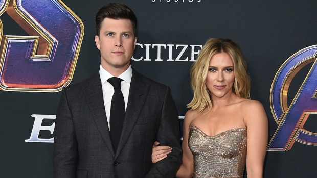 Celebrity Hookups: Scarlett Johansson, Colin Jost Engaged