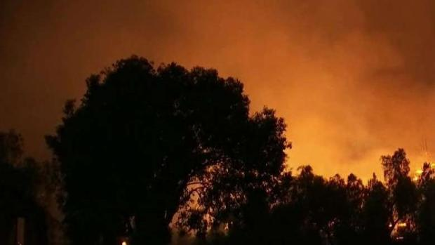 [BAY] Wildfires Continue to Burn Throughout California