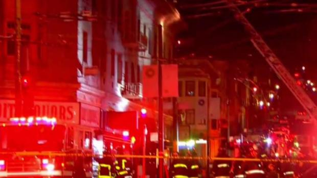 Witnesses of North Beach Fire Stunned by Flames