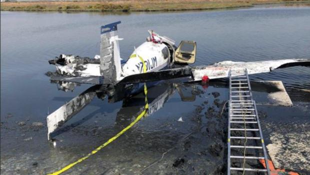 [BAY] 1 Dead, 2 Rescued After Plane Crashes Offshore in Palo Alto