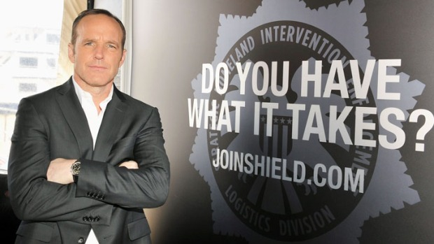 "Agent Coulson of ""The Avengers"" Is Clark Gregg's Hero"