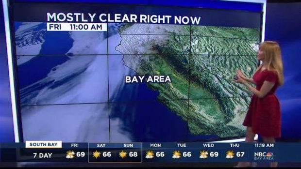 [BAY] Clouds Move In...Air Quality Gets Better