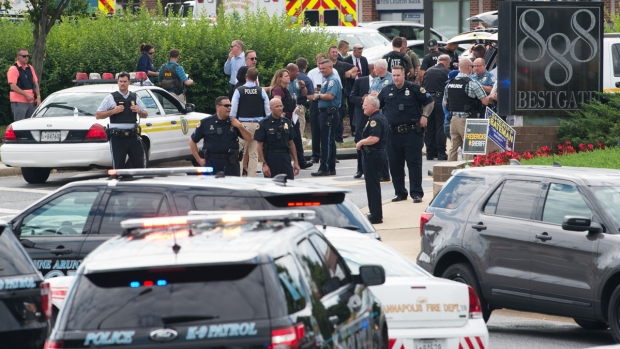 [DC-NATL] Shooting at Capital Gazette Newsroom in Annapolis Leaves Multiple Dead