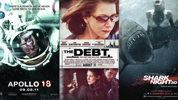 "This Week's New Movies: ""Apollo 18,"" ""The Debt,"" Shark Night 3D"" and More"