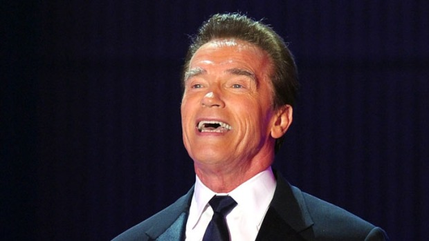 "Arnold Has His Comeback Film...And It's not ""Terminator"""