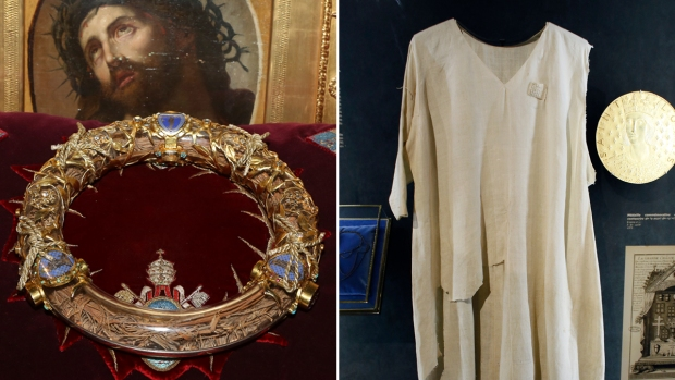 Artifacts Saved From Notre Dame Blaze