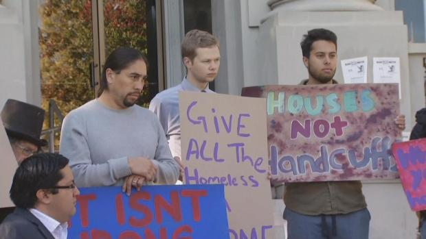 [BAY] Protesters Oppose Proposed Homeless Crackdown in Berkeley