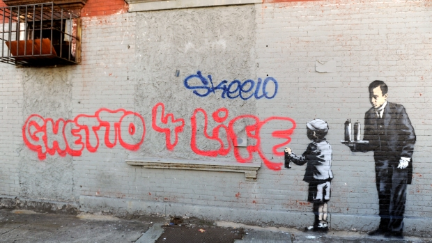 "Banksy's ""Better Out Than In"" Exhibit on the Streets of NYC"