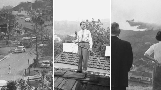 Photos: Scenes From the November 1961 Bel Air Fire Disaster
