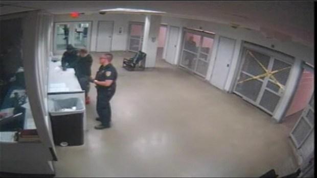 [LA] Raw Video: Justin Bieber Pat Down in Miami Jail