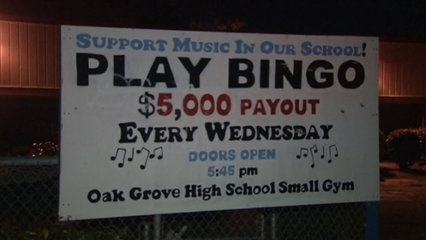 [BAY] Robber Steals Bingo Money for School Marching Band