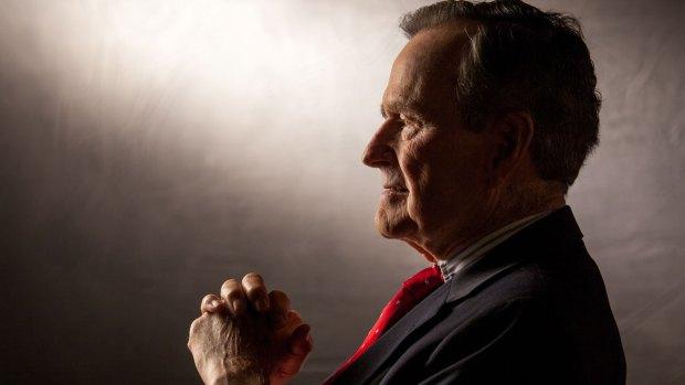 Former President George H.W. Bush's Casket Arrives in Washington, D.C.