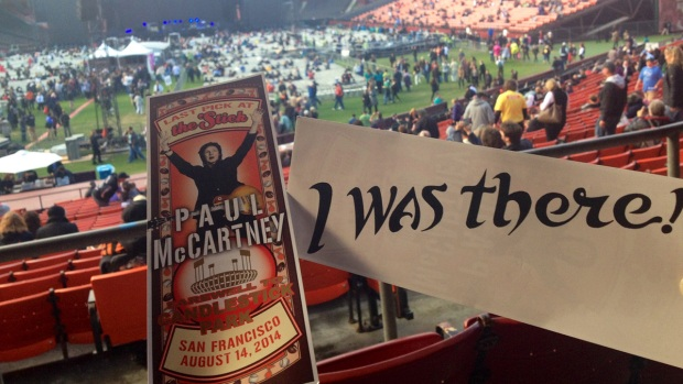 Paul McCartney's Farewell to Candlestick Park Concert