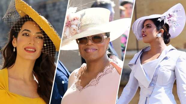 [NATL]Stars at the Royal Wedding of Prince Harry and Meghan Markle