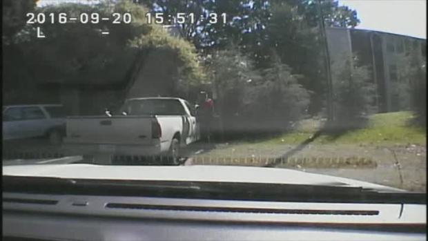 [NATL] Watch Police Dashcam Video From Keith Scott Shooting