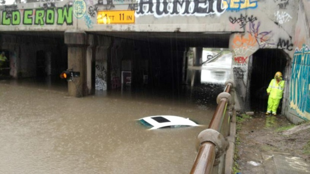 Storm Drenches Bay Area, Causes Flooding
