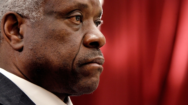 [NATL] Listen: Clarence Thomas Breaks 10-Year Courtroom Silence