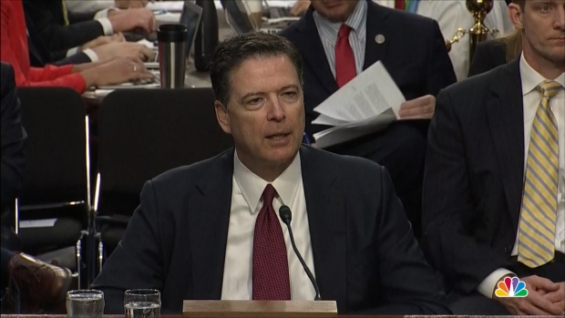 [NATL] Comey: 'Variety of Reasons' Sessions' Involvement With Russia Probe Problematic